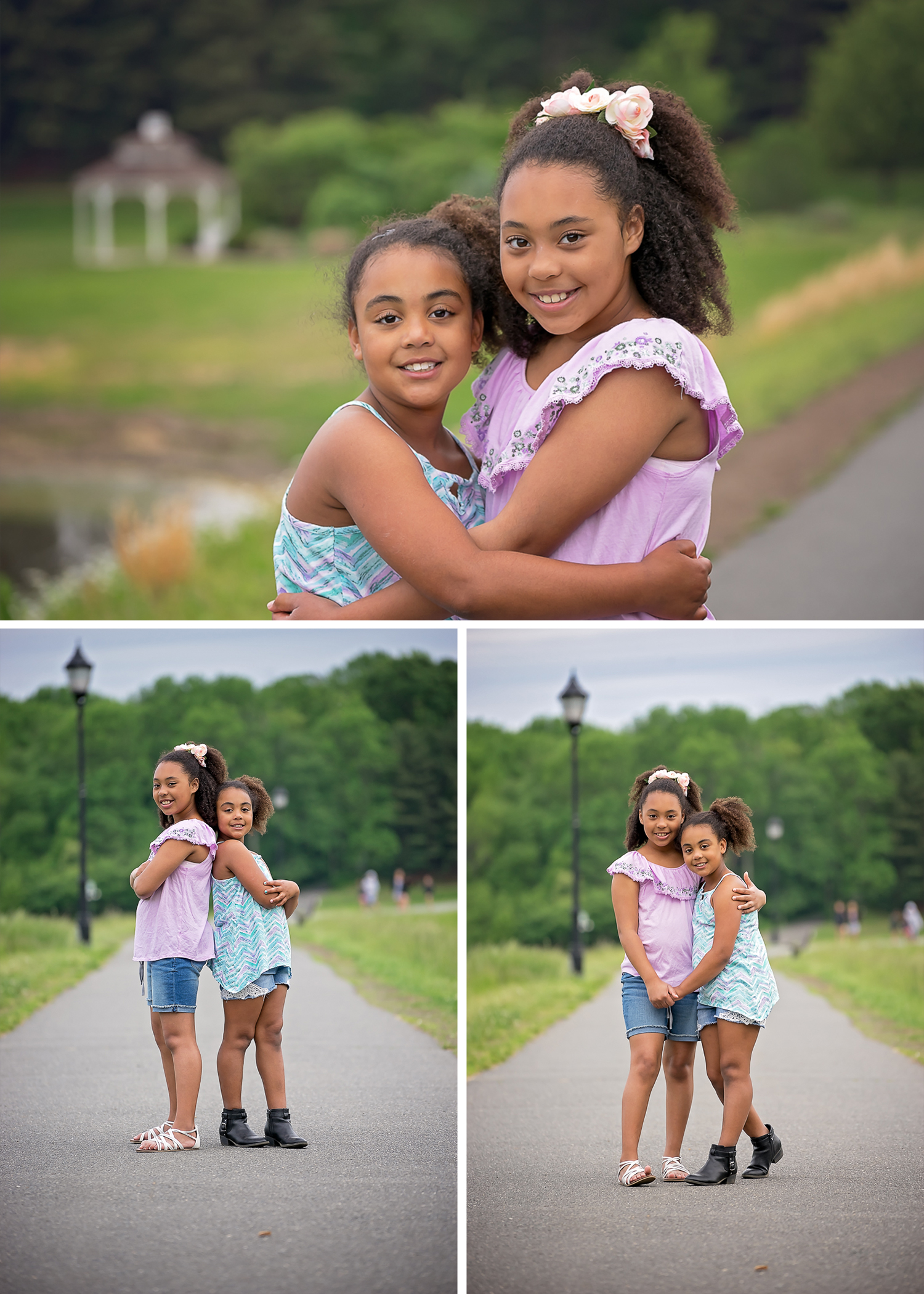 Central NJ Sisters Portrait Session