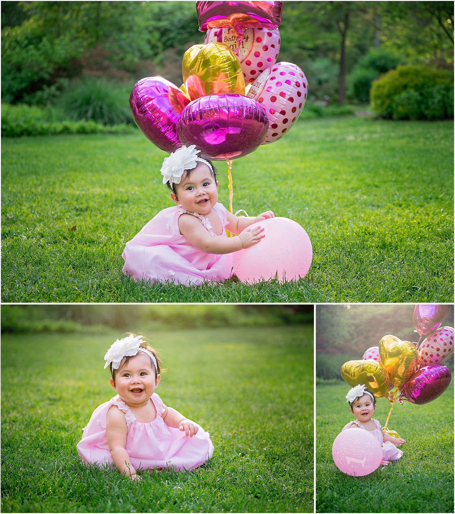 One Year Old Portrait Session (Cake Smash)